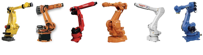 Programmazione robot, Kuka, Abb, Fanuc, Comau, Motoman, Kawasaki