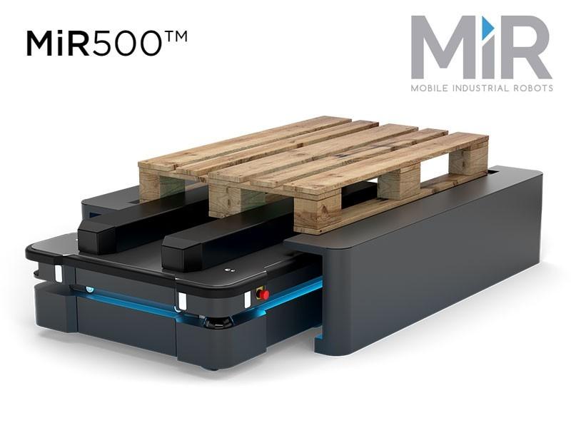 MiR presenta un robot mobile più grande e potente