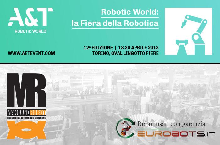 Fiera della robotica a Torino